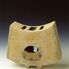 Inner Spaces 2000 Stoneware, engobes & oxides Slab built