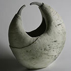 Linked 2006 Stoneware, engobes, oxides & clear glaze Coil built